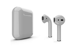 Беспроводная гарнитура Apple AirPods 2 Color без беспроводной зарядки чехла (Серый глянцевый)