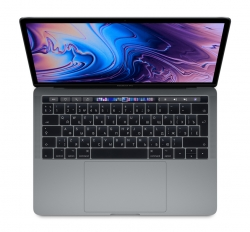 Ноутбук Apple MacBook Pro 13 with Retina display and Touch Bar Mid 2019 (i5/1.4GHz/8Gb/128SSD/Space Gray) MUHN2RU/A