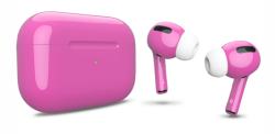 Беспроводная гарнитура Apple AirPods Pro Color (Розовый глянцевый)