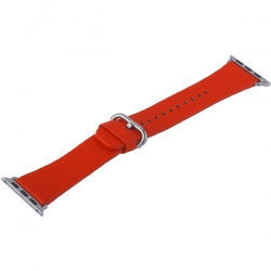 Ремешок кожаный для Apple Watch 38/ 40мм COTEetCI W22 (Красный)