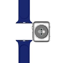 Ремешок спортивный для Apple Watch 42/ 44мм Sport Band (Blue Cobalt)