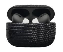 Беспроводная гарнитура Apple AirPods Pro IGUANA MAX (Черный)