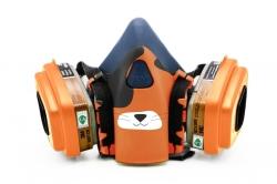 Дизайнерский Респиратор для защиты органов дыхания (Кот)