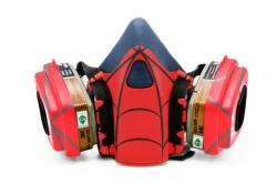 Дизайнерский Респиратор для защиты органов дыхания (Человек паук)