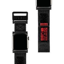 Ремешок для Apple Watch 42/ 44мм UAG Active (Чёрный)