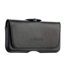 Чехол-кобура кожаный для iPhone SE/ 5S/ 5 Valenta с двойным креплением (Черный)
