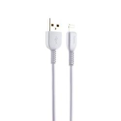 USB дата-кабель Hoco X20 Flash Lightning 1.0м (Белый)