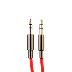 Акустический кабель Aux 3.5mm COTEetCI Audio line Cable (1.5 м) Красный