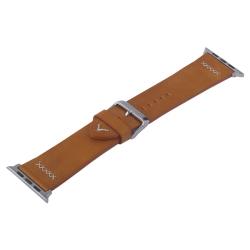 Ремешок кожаный для Apple Watch 38/ 40мм COTEetCI W33 Fashion (Коричневый)