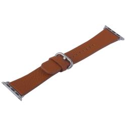 Ремешок кожаный для Apple Watch 38/ 40мм COTEetCI W22 (Коричневый)