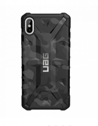 Противоударный чехол для iPhone XS Max UAG Pathfinder SE Camo (Черный камуфляж)