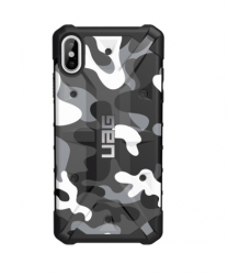 Противоударный чехол для iPhone XS Max UAG Pathfinder SE Camo (Арктический белый)