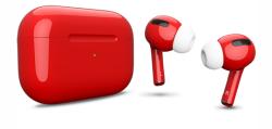 Беспроводная гарнитура Apple AirPods Pro Color (Красный глянцевый)