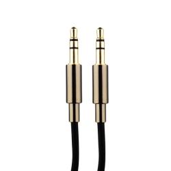 Акустический кабель Aux 3.5mm COTEetCI Audio line Cable (1.5 м) Черный