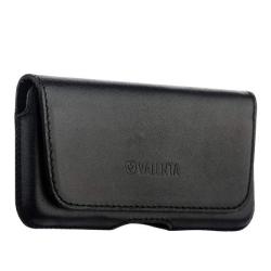 Чехол-кобура кожаный для iPhone SE/ 5S/ 5 Valenta внут. маг. (Черный)