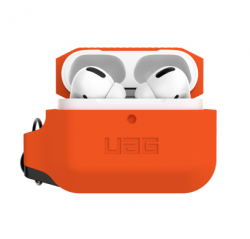 Чехол для AirPods Pro UAG Silicone Case (Orange)