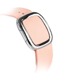 Ремешок кожаный для Apple Watch 38/ 40мм Modern Buckle (Розовый)
