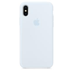 Силиконовый чехол для iPhone X/ XS (Голубое небо)