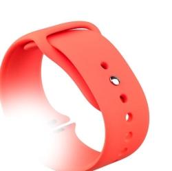 Ремешок спортивный для Apple Watch 38/ 40мм COTEetCI W3 Sport Band (Красный)