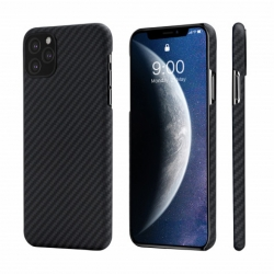 Кевларовый Чехол Pitaka Для Apple IPhone 11 Pro (Черно-Серый)