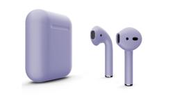 Беспроводная гарнитура Apple AirPods 2 Color без беспроводной зарядки чехла (Сиреневый матовый)