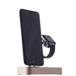 Док-станция для Apple Watch & iPhone COTEetCI Base Hub Dock (Золото)