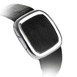 Ремешок кожаный для Apple Watch 42/ 44мм COTEetCI W5 NOBLEMAN (Черный)