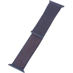 Ремешок для Apple Watch 38/ 40мм COTEetCI W17 Magic Tape Band (Черный)