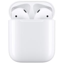Беспроводная гарнитура Apple AirPods 2 (без беспроводной зарядки чехла) MV7N2
