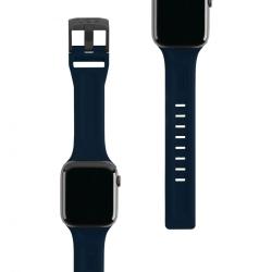 Ремешок силиконовый для Apple Watch 42/ 44мм UAG Scout (Темно-синий)