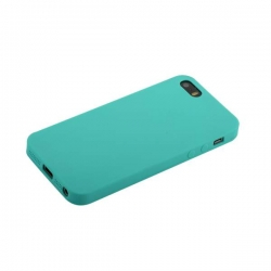 Чехол-накладка для iPhone SE/ 5S/ 5 Anycase Silicone (Мятный)