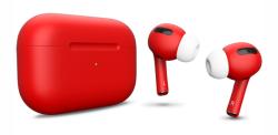 Беспроводная гарнитура Apple AirPods Pro Color (Красный матовый)