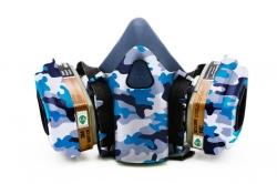 Дизайнерский Респиратор для защиты органов дыхания (Камуфляж1)