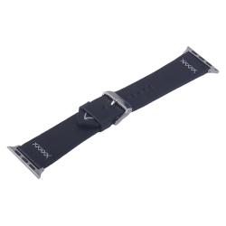 Ремешок кожаный для Apple Watch 38/ 40мм COTEetCI W33 Fashion (Черный)