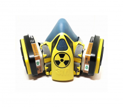 Дизайнерский Респиратор для защиты органов дыхания (Опасно2)