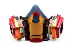 Дизайнерский Респиратор для защиты органов дыхания (Железный человек)