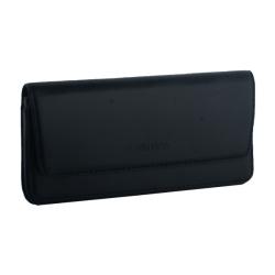 Чехол-кобура кожаный Valenta две шлёвки (160x80x14mm 5.0-5.4) Черный