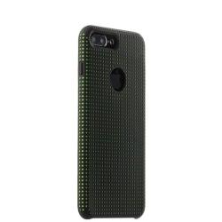 Чехол-накладка для iPhone 7 Plus/ 8 Plus COTEetCI Vogue Silicone Case (Черный/ Зеленый)