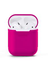 Чехол силиконовый для AirPods 1/ 2 (Pink)
