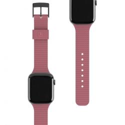 Ремешок силиконовый для Apple Watch 38/ 40мм UAG [U] DOT STRAP (Розовая пыль)