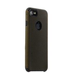 Чехол-накладка для iPhone 7/ 8 COTEetCI Vogue Silicone Case (Черный/ Оранжевый)