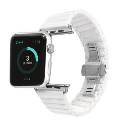 Ремешок из керамики для Apple Watch 38/ 40мм (Белый)