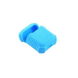 Чехол силиконовый для AirPods 1/ 2 COTEetCI CS8106 (Голубой)