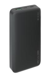 Внешний аккумулятор Deppa NRG Turbo 15000 mAh (USB: 5-6V/3A, 9V/2A) Черный