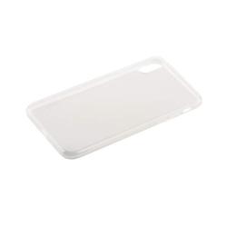 Чехол силиконовый для iPhone X (5.8) супертонкий (Прозрачный)