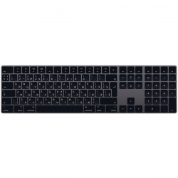 Клавиатура беспроводная Apple Magic Keyboard Numeric Keypad Space Gray (MRMH2RS/A)