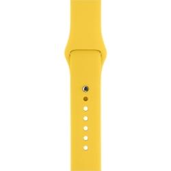 Ремешок спортивный для Apple Watch 38/ 40мм Sport Band (Yellow)