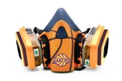 Дизайнерский Респиратор для защиты органов дыхания (Lakers)
