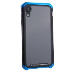 Чехол-накладка для Apple iPhone XR (6.1) Element Case G-Solace (Сине-черный ободок)