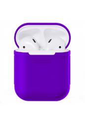 Чехол силиконовый для AirPods 1/ 2 (Purple)